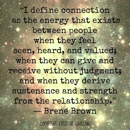 QUOTES ON CONNECTION